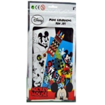 Disney Mickey Egeres Mini Színező Füzet Matricákkal