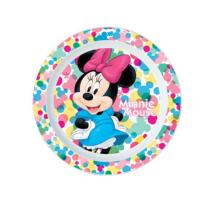 Minnie Egeres Műanyag Lapostányér