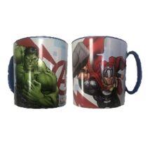 Avengers Mikrózható Műanyag Bögre