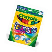 Crayola Vastag Filctoll 8 db
