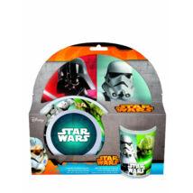 Star Wars-os Műanyag Étkészlet