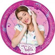 Disney Violetta Parti Tányér