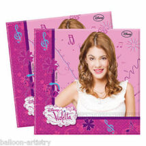 Disney Violetta Party Szalvéta