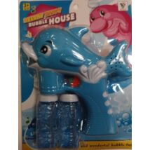 Delfines Világító, Zenélő Buborékfújó
