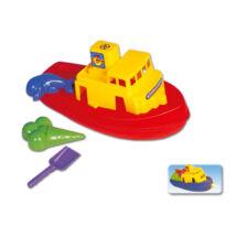 Nagy Hajó: Homokozó és Vizes Játékkészlet