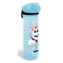 Világos Kék Pandás Műanyag Kulacs 600 ml-es