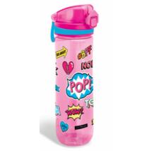 Rózsaszín Lollipop-os Műanyag Kulacs 600 ml-es