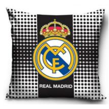 Real Madrid Fekete Mintás Párna