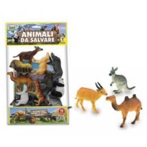 Vadon Élő Állatok 10 db-os