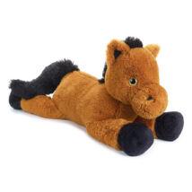 Plüss ló csillogó szemű 100 cm