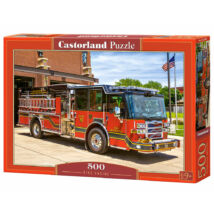 Castorland Puzzle: Tűzoltó Autó 500db