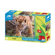 Super 3D Kids Puzzle: Tigris