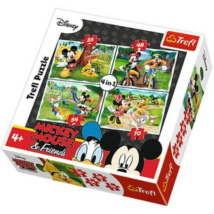 Mickey Egér és Barátai Puzzle 4 in 1