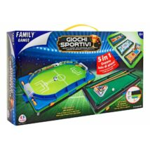 Family Games 5 az 1-ben Asztali Játék