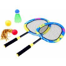 Badminton Tollasütő 3 Féle Labdával