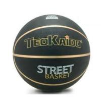 TeoKaido Fekete Műbőr Kosárlabda