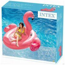 Intex Óriás Flamingó sziget 218x211x136cm