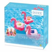 Intex 3 db-os Felfújható Flamingós Italtartó