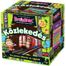 BrainBox - Közlekedés társasjáték