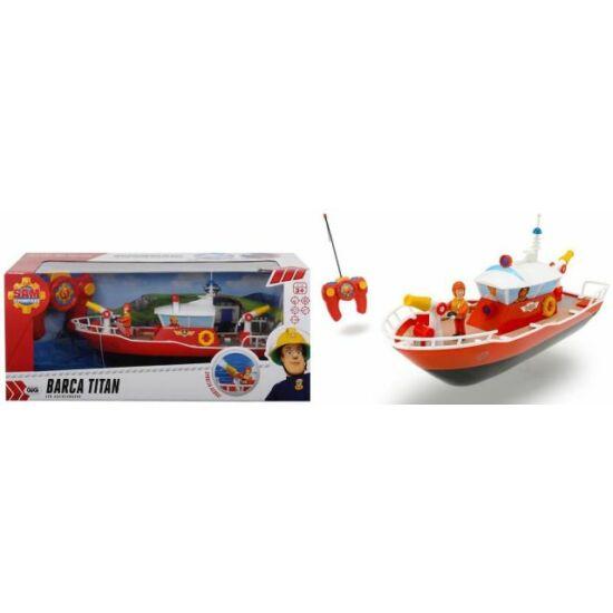 Sam a tűzoltó - távirányítós titán hajó
