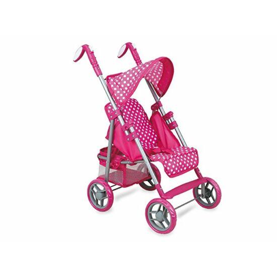 Rózsaszín sport babakocsi