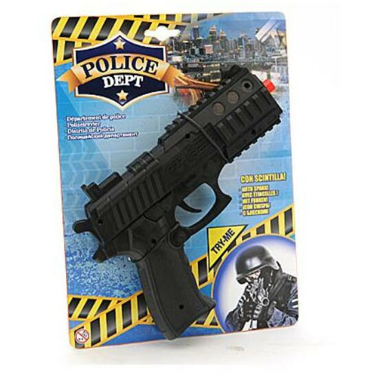 Police dept Fegyver, kerregős