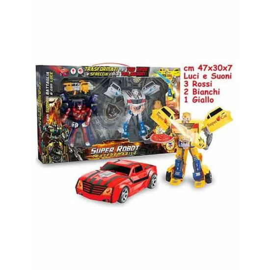Super Robot Transformers Szett