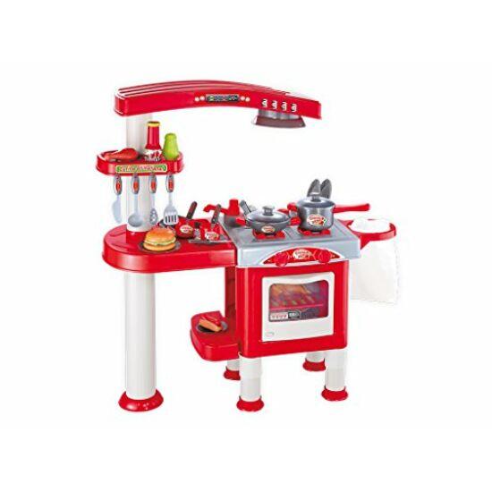 Grande Chef Teljesen Felszerelt Műanyag Játék Konyha