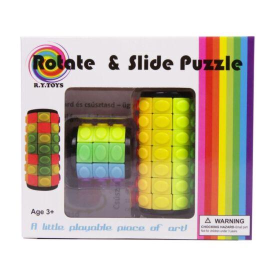 Rotate & Slide Puzzle: Csavard és Csúsztasd Ügyességi Játék