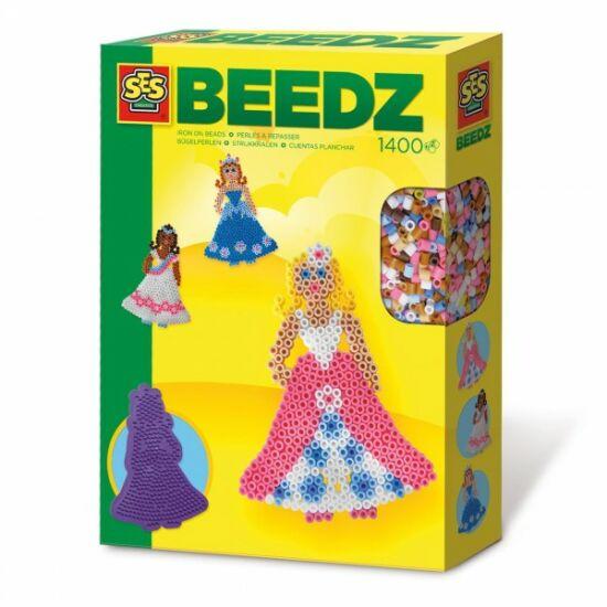 SES Hercegnős 1400 Darabos Vasalható Gyöngy Készlet