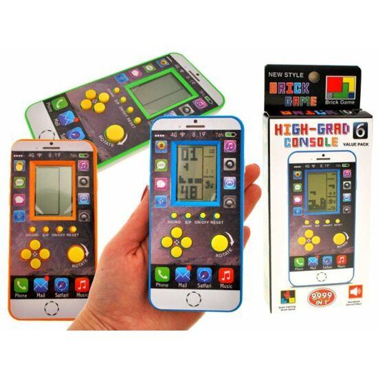 Okostelefon Formájú Tetris