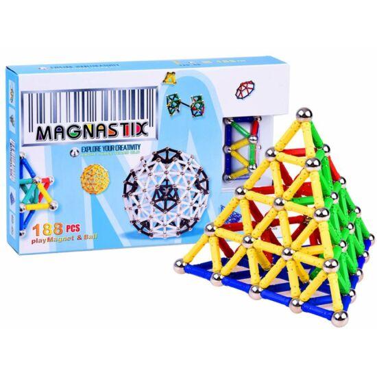 Mágneses Építőjáték 188 db