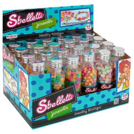 Sbelletti Jewels: Gyöngyfűző Készlet Üvegcsében Többféle