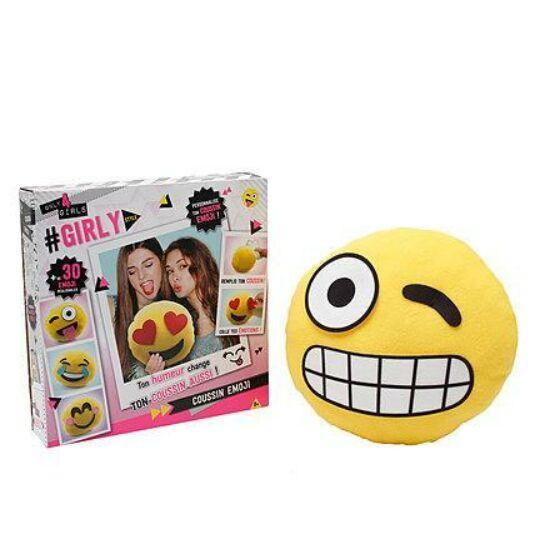Only 4 Girls Emoji Készítő Párna
