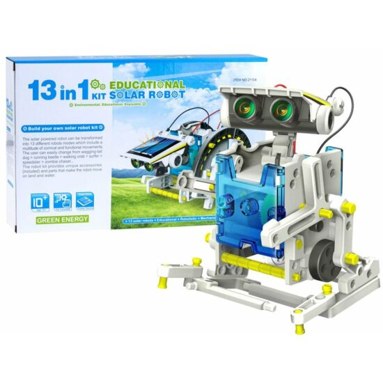 13 in 1 Solar Robot