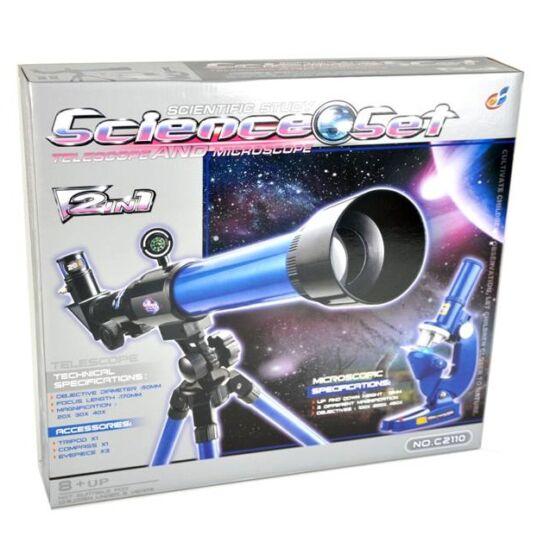 Teleszkóp és Mikroszkóp