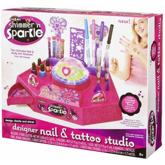 Shimmer'n Sparkle Köröm Díszítő és Csillám Toll Stúdió