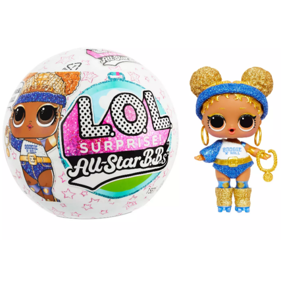L.O.L. Surprise All-Star B.B.S. Nyári Játékok Meglepetés Baba