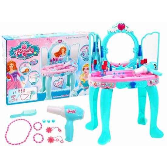 Szépítkező Asztal Kék-Rózsaszín