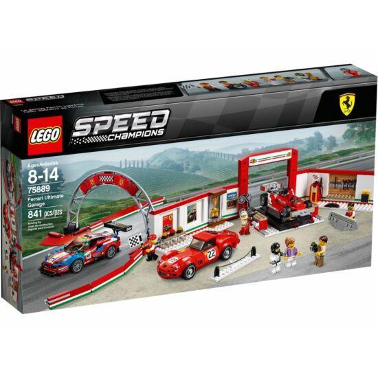Lego Speed Exkluzív Ferrari Garázs 75889