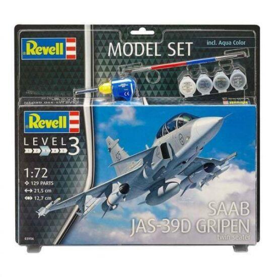 Revell SAAB JAS-39D GRIPEN twin seater Model-Set