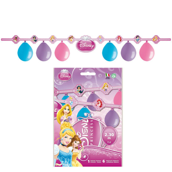 Disney Hercegnős Party Dekoráció