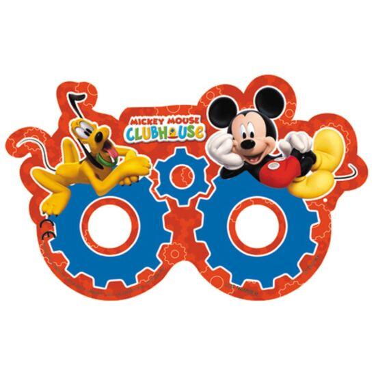 Mickey Egeres Parti Álarc 6 db-os