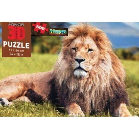 Discovery Super 3D Oroszlános Puzzle