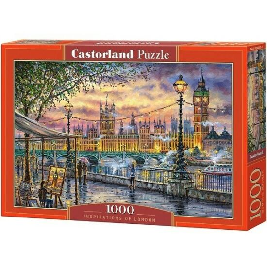 Castorland 1000 db-os Puzzle - London