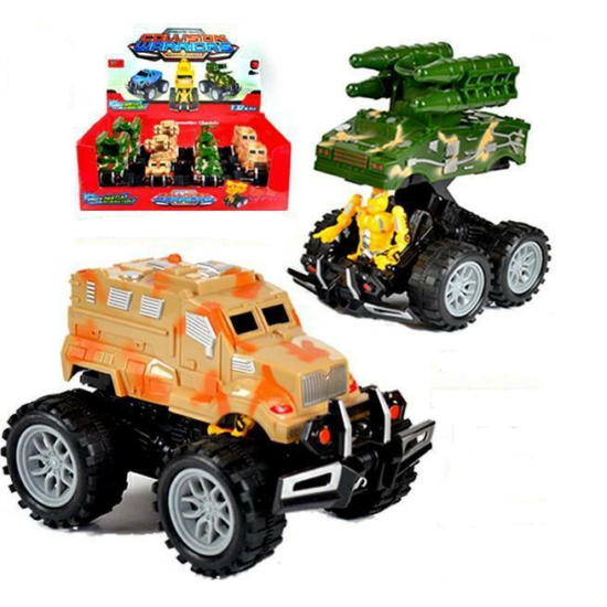 Katonai Robotos Monster Truck