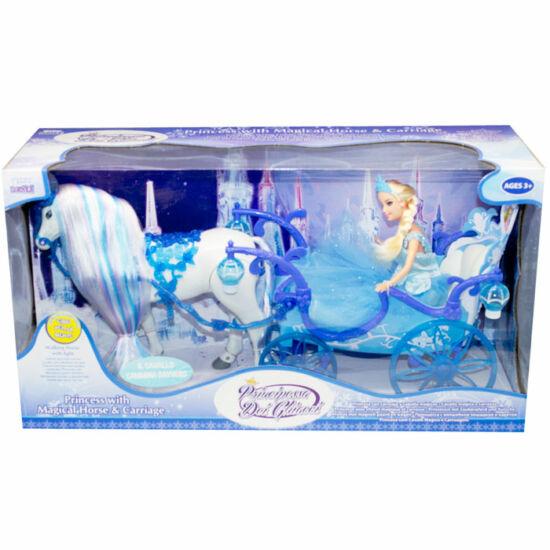 Barbie baba királyi hintóval