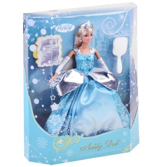 Anlily Hercegnő Kék Báli Ruhában