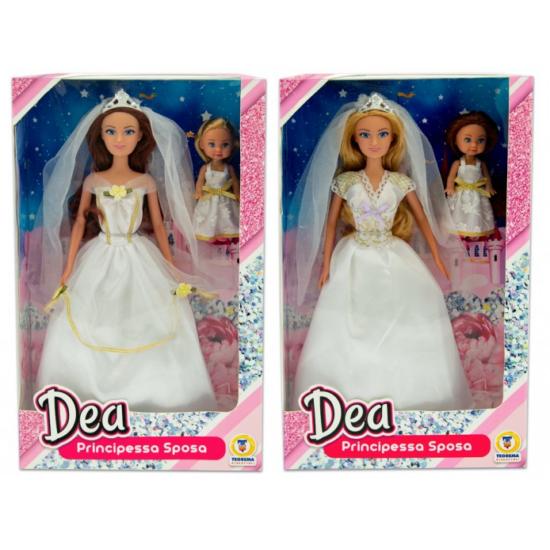 Dea Menyasszony és Koszorúslány Baba Kétféle