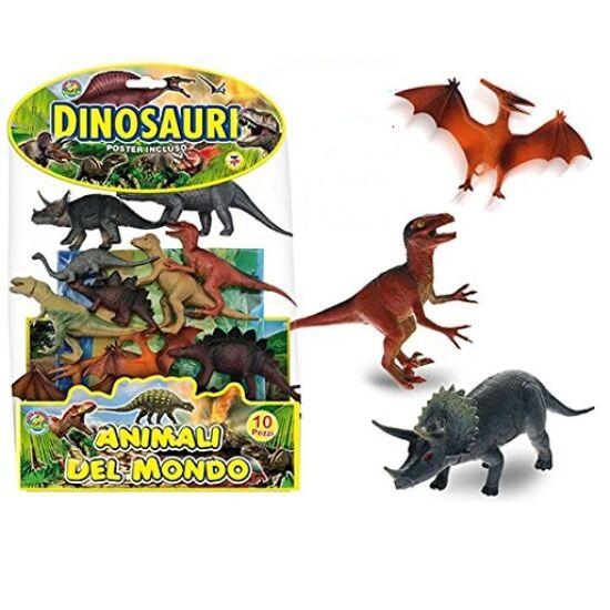 Teorema 10 db-os Dinoszaurusz Készlet